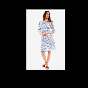 Roberta-Roller-Rabbit-- Nimes Shirt Dress Luberon
